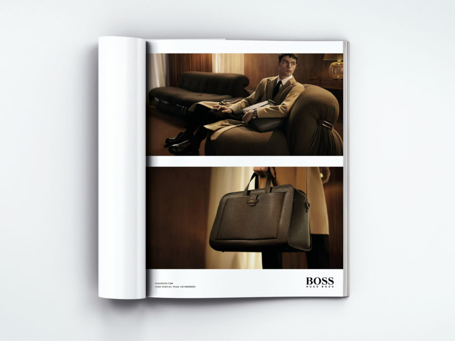 Hugo Boss campaign - Julien Gallico Studio