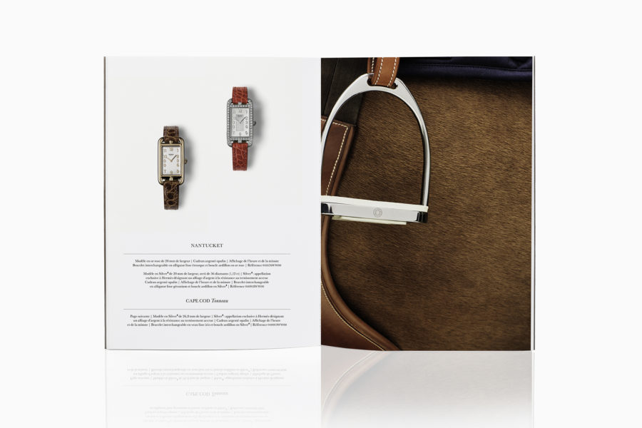 Hermès Catalogue - Julien Gallico Studio